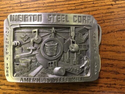 Weirton Steel Belt Buckle