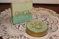 Avon Vintage Powder-pak........golden Rachel W / Puff