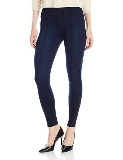 7 For All Mankind Women's Seamed Legging with Ankle Zips, Slim Illusion Luxe