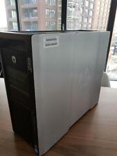 HP Z820 Workstation  with two Intel xeon e5-2640  2x6core, gtx970, 32gb,best