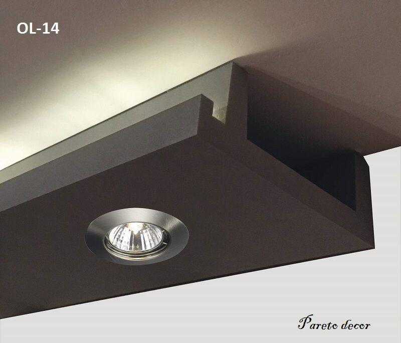 24 Meter LED Licht Bebauung Profil Spot für indirekte Beleuchtung XPS OL-14 30c