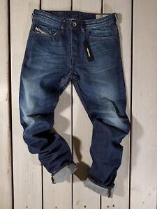 Raccomandato-Prezzo-al-dettaglio-174-Nuovo-Jeans-Diesel-Uomo-Buster-0838B-Regular-Slim-Tapered