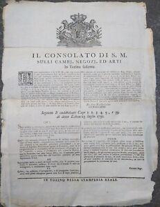 1779-143-BANDO-DA-TORINO-SUI-DVIETI-DI-COMMERCIARE-TESSUTI-DI-LANA