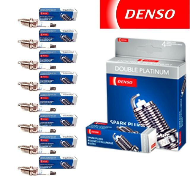 8 Denso Double Platinum Spark Plugs For 1995