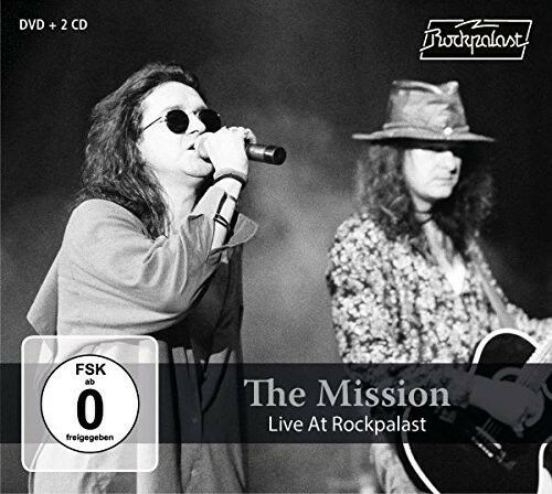 The Mission UK - Live At Rockpalast [New CD] With DVD