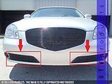 GTG, 2010 - 2011 BUICK LUCERNE 2pc BLACK BUMPER ACCENT BILLET GRILLE KIT