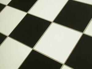 Fußboden Fliesen Schwarz Weiß ~ Bodenfliesen schwarz weiß schachbrett fliesen sorte ebay