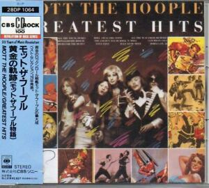 Mott-The-Hoople-Greatest-Hits-JAPAN-CD-with-OBI-28DP-1064