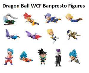 Dragon-Ball-Z-Super-WCF-Figures-Vol-3-6-Banpresto-Japan-Choose-One