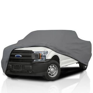 Truck Cover Waterproof All Weather Compatible with 1990-2021 Ford F-150 Full Outdoor Truck Pickup Car Covers Lightweight Breathable Covers for Car UV Protection//Windproof//Dustproof//Scratch Resistant