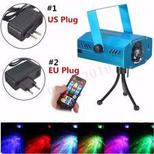 RGB Wasser Welle Projektor Club Show DJ Disco LED Bühne Party Laser