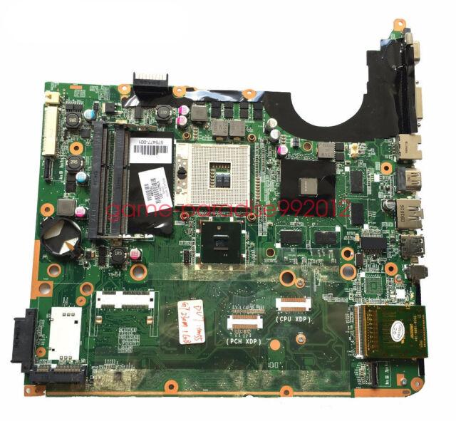 HP laptop DV7 DV7-3000 PM55 Series Intel 575477-001 motherboard Support  i7 CPU