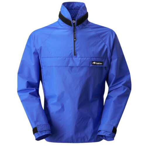 Buffalo Pertex Windshirt Royal Blue Unlined Wind Breaker JKT383