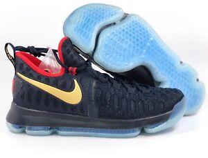 e52301649789 Nike Zoom KD 9 LMTD Unite USA Olympics Navy Blue Gold 843396-470 ...