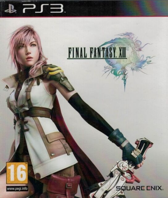 Final Fantasy XIII, Playstation 3 Game, USED