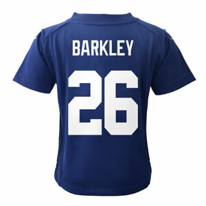 newest collection db206 c96fa Details about Saquan Barkley New York Giants Nike Toddler Game Jersey -  Royal