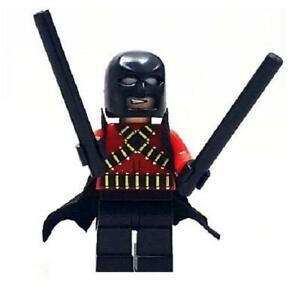 Red-Robin-Minifigure-DC-Super-Heroes-Figure-For-Custom-Lego-Minifig-15