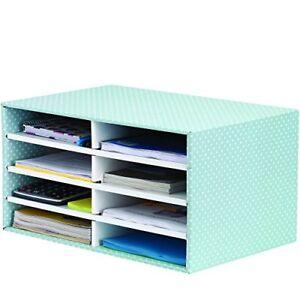 Fellowes-BANKERS-BOX-STYLE-SchreibtischManager-gruen-weiss-Organizer-Schubladenbox