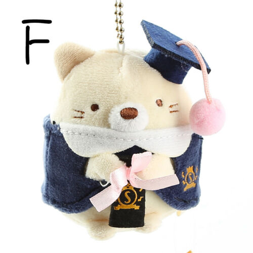 Sumikko Gurashi graduate gift plush doll toy key chain keyring bag   cute