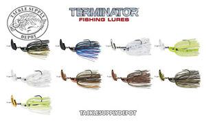 Terminator-Shudder-Bait-Vibrating-Bladed-Swim-Jig-3-8oz-Pick