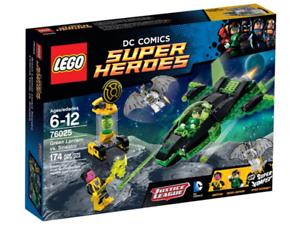 76025 Sinestro Manual Only Green Lantern vs Lego DC Super Heroes