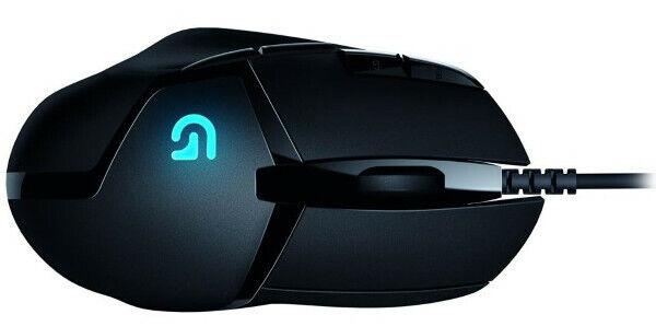 Logitech G402 Gaming-Maus (Hyperion Fury FPS, 8 programmierbaren Tasten, DPI-Ums