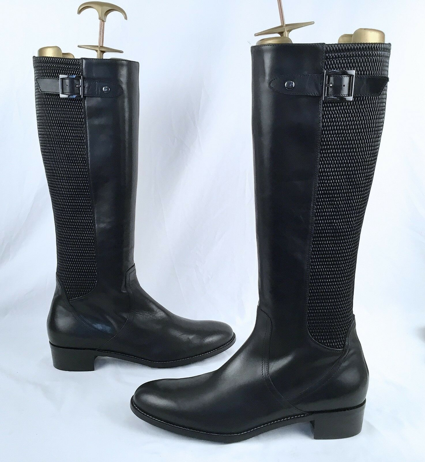 Aquatalia by Marvin K 'Uplift' Knee High Leather Boots- Size- 11 M  498 (J10)