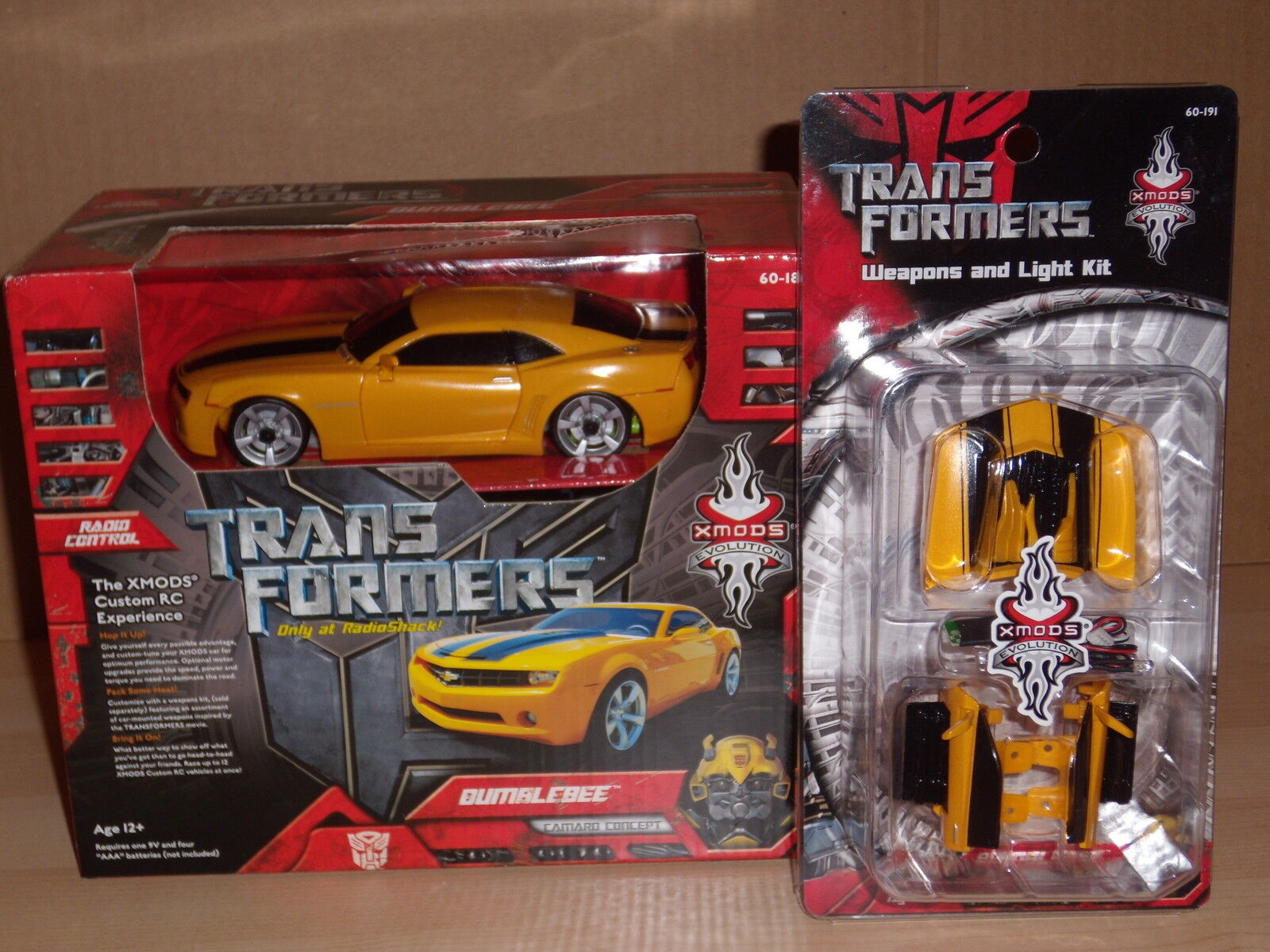XMODS Evolution Transformers Bumblebee RC Radio Control Kit Movie 2007