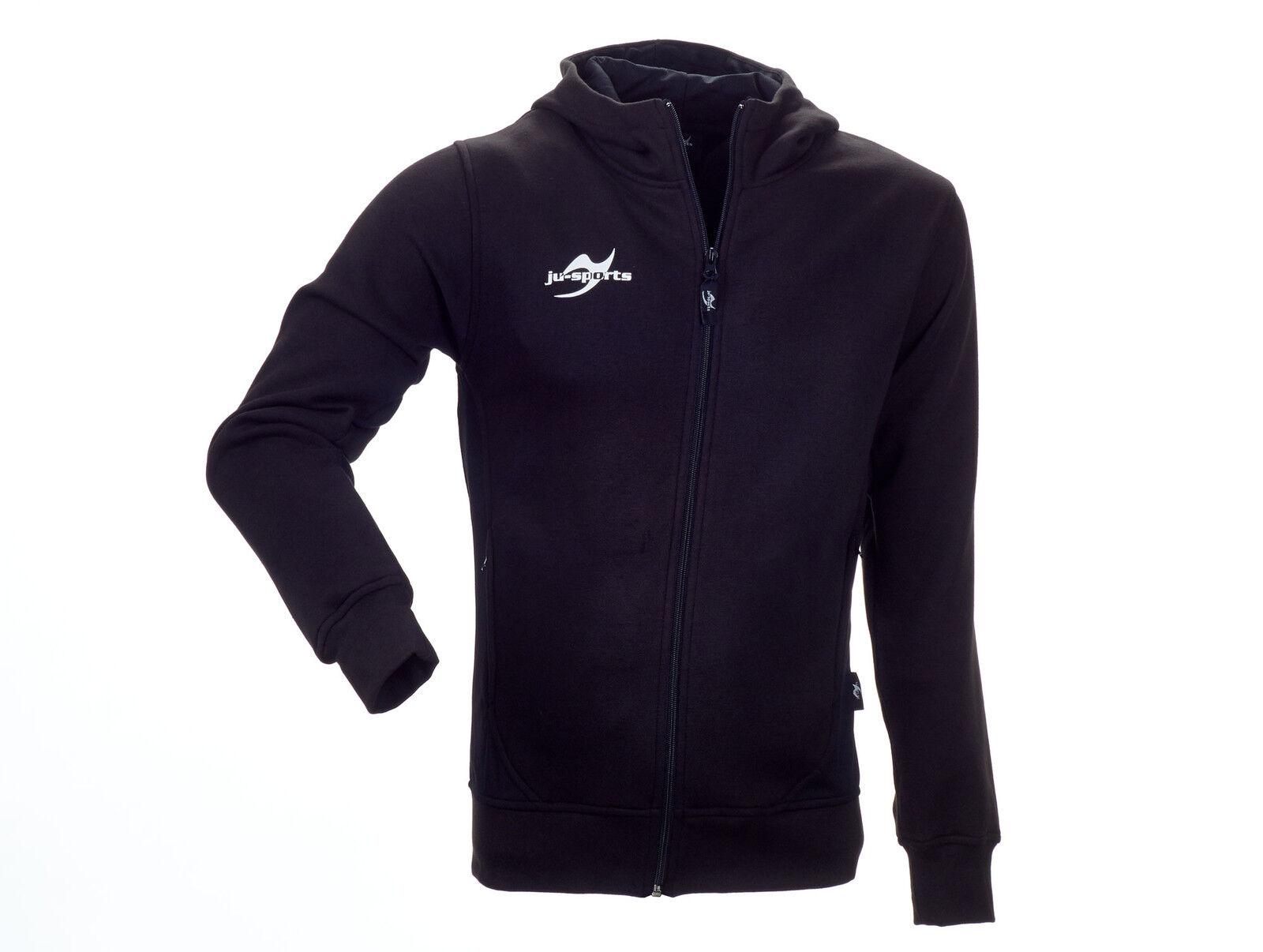 Ju-Sport Teamwear EleSiet Core Zip Hoodie schwarz