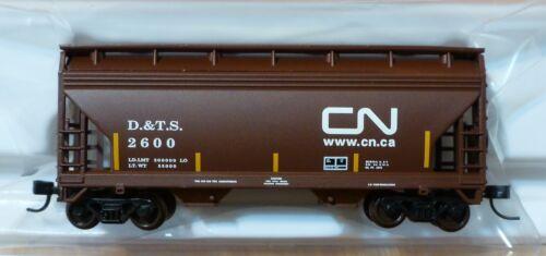 2-Bay Centerflow //Trainman Rd #2600 DT/&S Atlas N #50001867 Canadian National