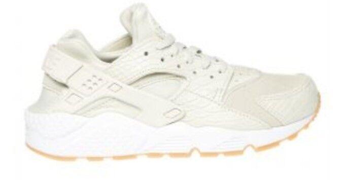 Nike Air Huarache Run 5.5 SE Light Bone Uk 5.5 Run Ladies Trainers Running Chaussures Bnib 7f03e2