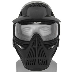 Intimidating paintball mask
