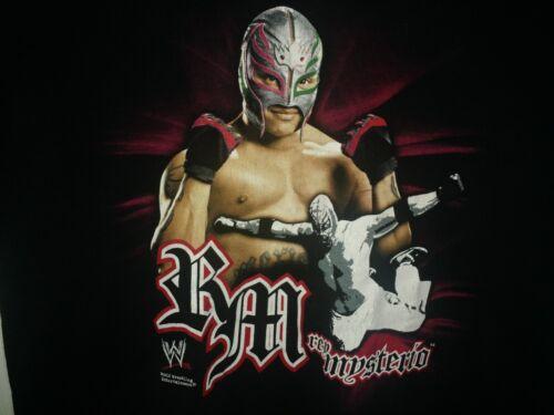 WWE Rey Mysterio 2XL T-Shirt Hybrid wrestling Mask 619 West Coas