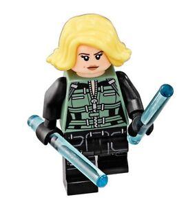 LEGO Marvel Avengers Infinity War Black Widow figure from set 76101 NEW