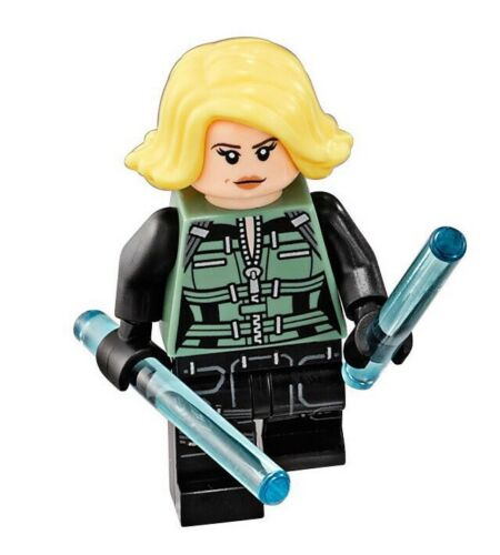 LEGO Marvel Avengers Infinity War BLACK WIDOW Minifigure 76101 NEW