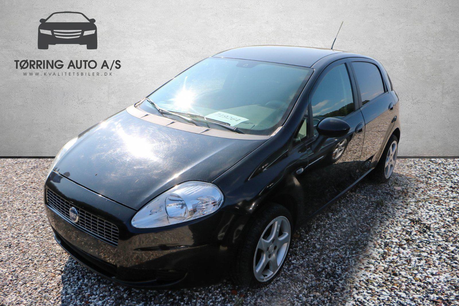Fiat Grande Punto 1,3 JTD 75 Active 5d - 14.900 kr.