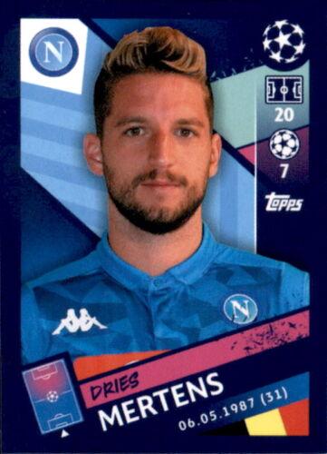 Topps Champions League 18/19 - Sticker 268 - Dries Mertens