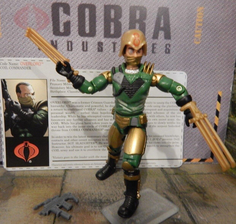 Gi - joe - 2006 overlord - kobras meistgesuchten joecon übereinkommen - 100% & karten
