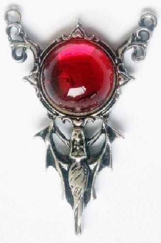 Carpe Noctum Children of the Night Vampire Pendant