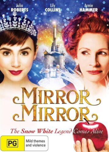 1 of 1 - Mirror Mirror (DVD, 2012) LIKE NEW