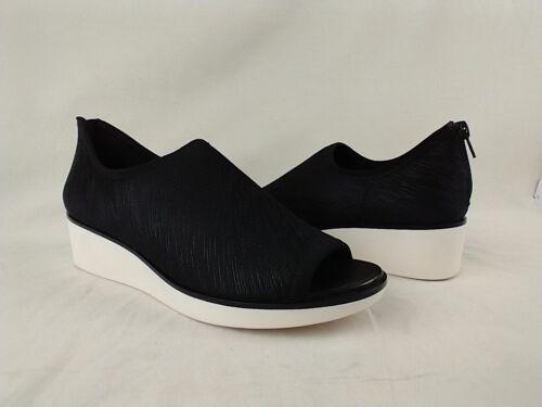 Details about  /Lori Goldstein Li-Siani Black Scratch Knit Wedge Shoes Women/'s Size 7.5 M US