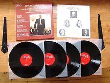 "BOX SET 4 LPs MELODIYA SLS 5212 ""Mravinsky Leningrad Phil. Vienna Festival 1978"""