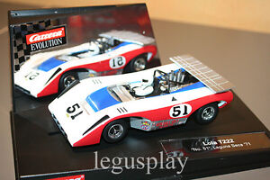Slot-car-SCX-Scalextric-Carrera-27352-Evolution-Lola-T222-No-51-Laguna-Seca-039-71
