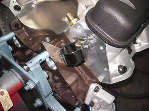 VTG STYLE UNIVERSAL CHROME COIL COVER  MOUNT BRACKET AUTO TRUK PART ACCESSORY 2