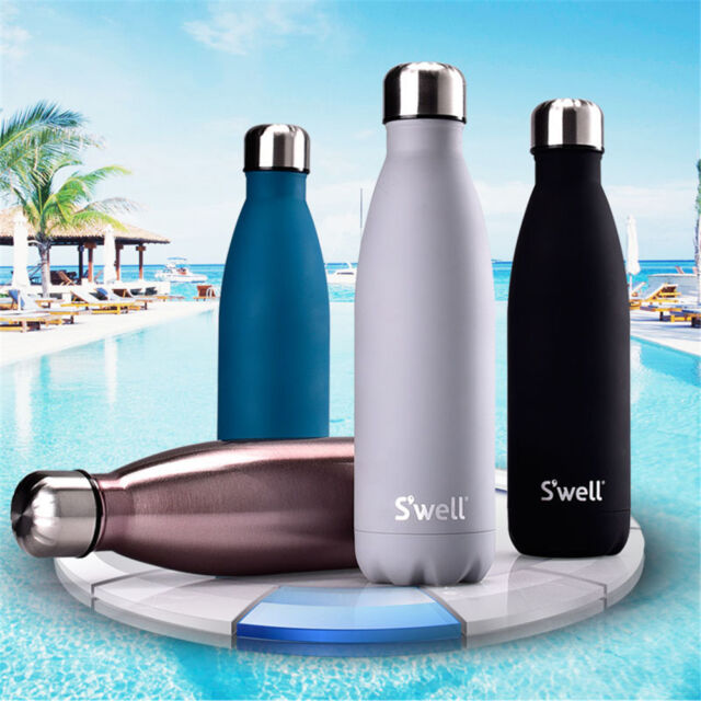 0.5L Stainless Steel Insulated Water Bottle Thermos Vacuum Flask Double Wall AUS