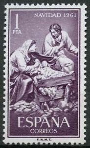 Spain-1961-SG-1461-Christmas-MNH-D4882
