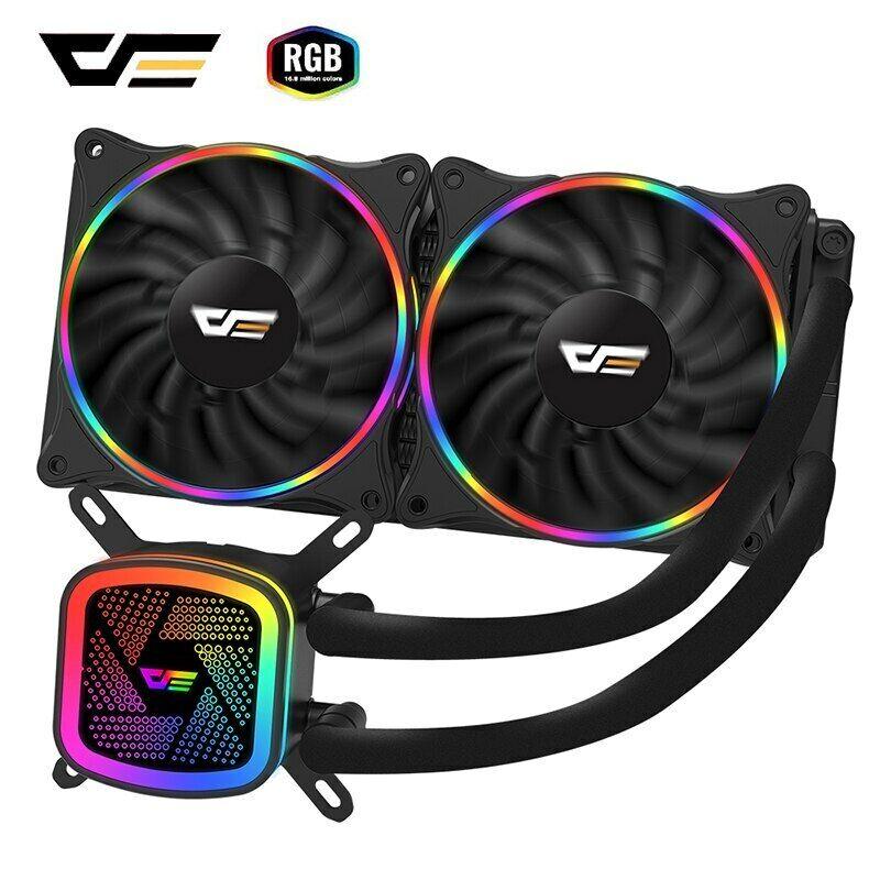 darkFlash PC 水冷 コンピュータ クーラー RGB