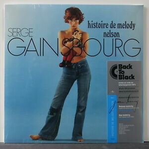 SERGE-GAINSBOURG-039-Histoire-De-Melody-Nelson-039-180g-Vinyl-LP-Download-NEW-SEALED