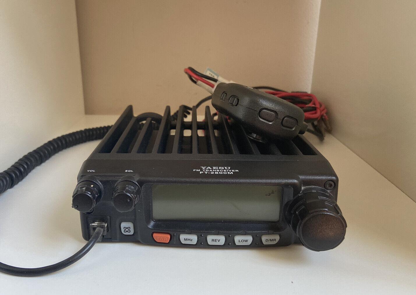 Yaesu FT-2800M Transceiver & Microphone Original Box, Speaker & 2 Antennas. Available Now for 179.99