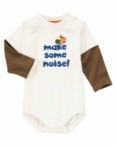 Gymboree Fox Fella Make Some Noise 0 3 6 Mos NWT Retail Store
